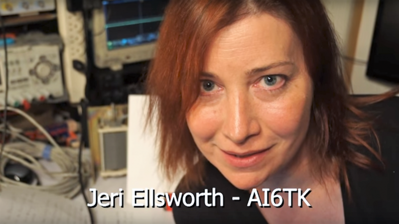 Jeri] Builds A Magnetic Loop Antenna | Hackaday
