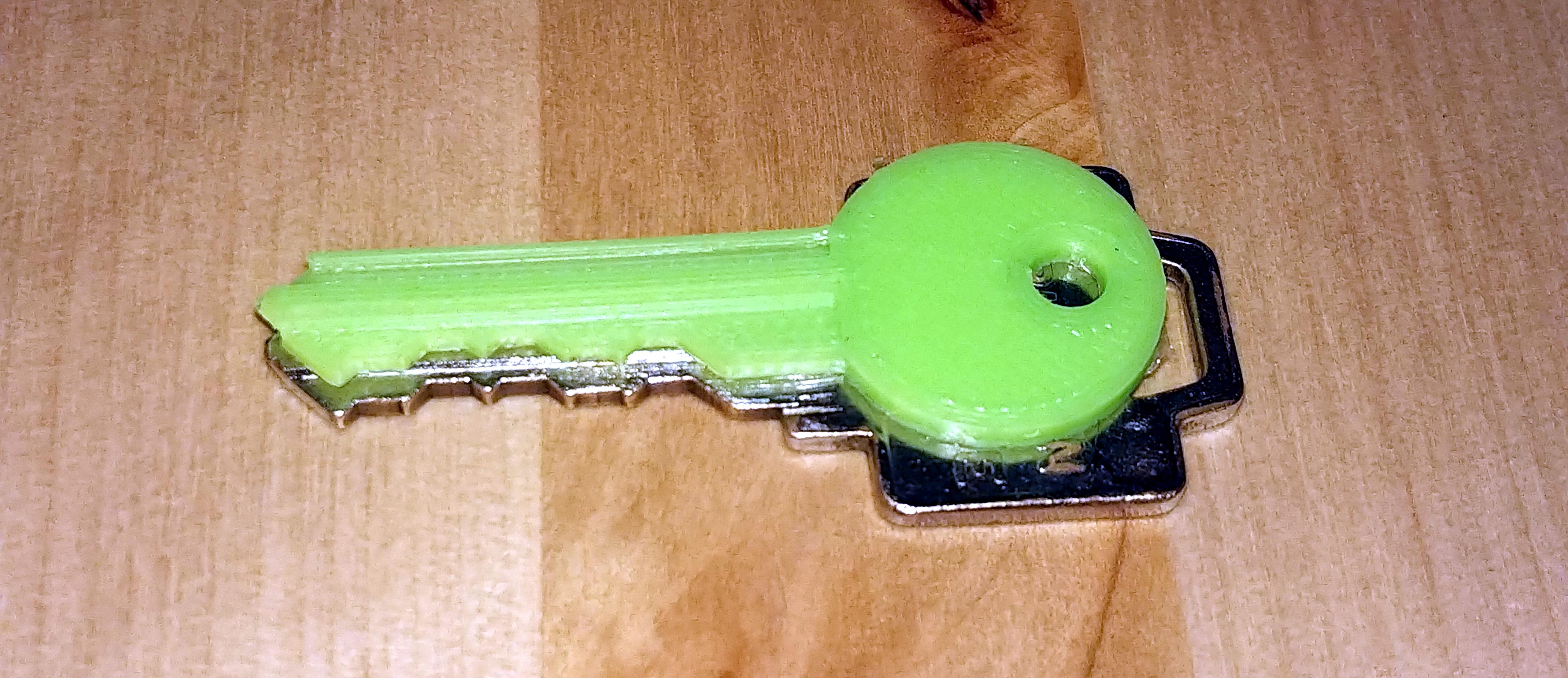 3D-Printed Kwikset Keys Parametrically | Hackaday