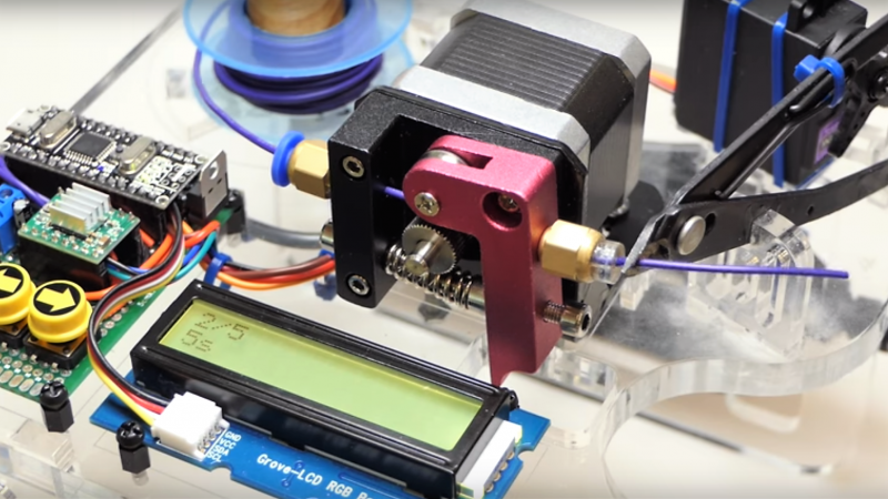 Automate Wire Prep With A Robot Wire Cutter Hackaday