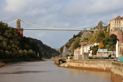 The Clifton Suspension Bridge. [by Gothick CC BY-SA 3.0]