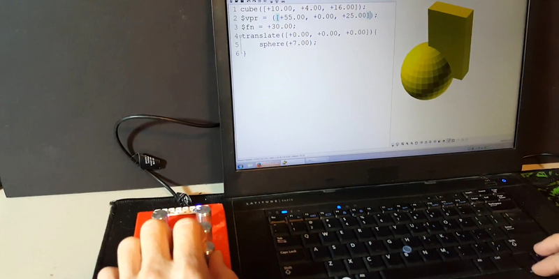 Add Intuitiveness To OpenSCAD With Encoders | Hackaday