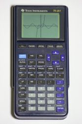 TI-81 graphing calculator