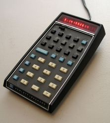 HP-35, the first scientific calculator