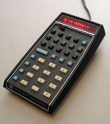 HP-35, the first scientific calculator