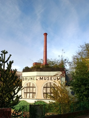 It's easy to spot that it's the [Brunel] Museum.