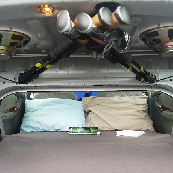 Camping In A…  Corolla? | Hackaday