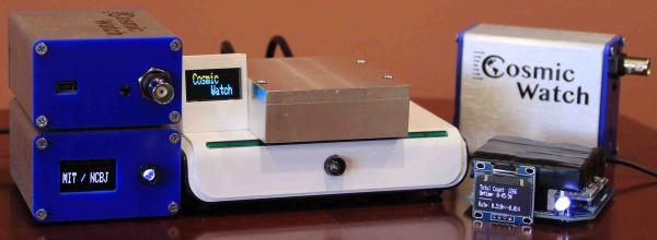 CosmicWatch muon detector