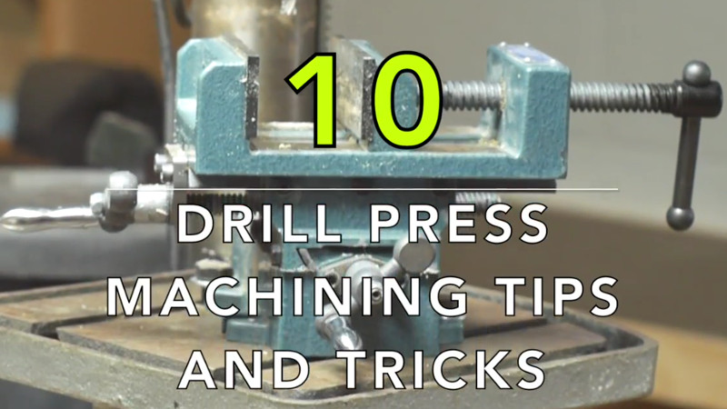 Tips For Basic Machining On A Drill Press | Hackaday