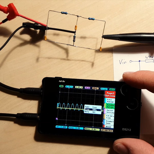 DS212 Oscilloscope Review: Open Source And Great For Hacking