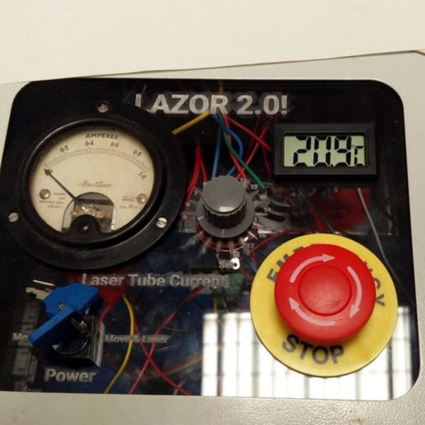 Hacking A K40 Laser Cutter | Hackaday