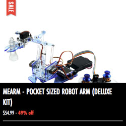 MeARM Pocket Sized Robot Arm
