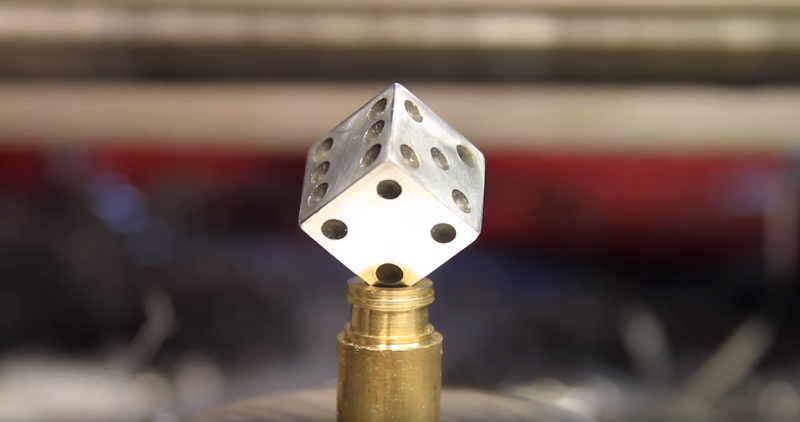 Lathe Turns The Corner, Makes A Cube | Hackaday