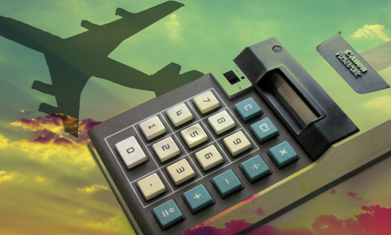 The Flight That Made The Calculator And Changed The World | Hackaday