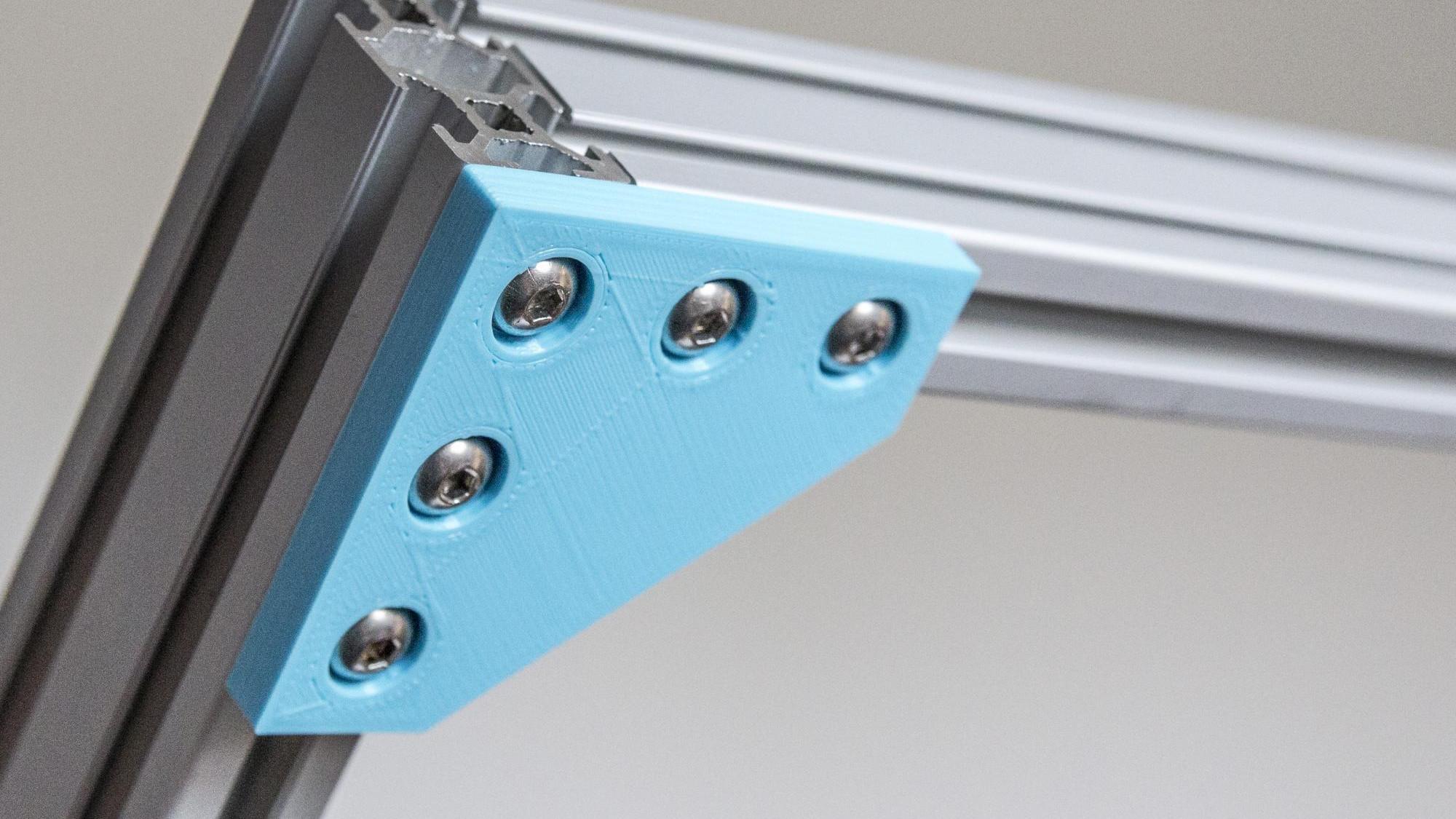 If 3d Printer Then Custom Aluminum Extrusion Brackets