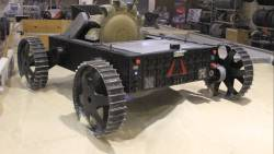 Astrobotics' Polaris lunar mining test vehicle