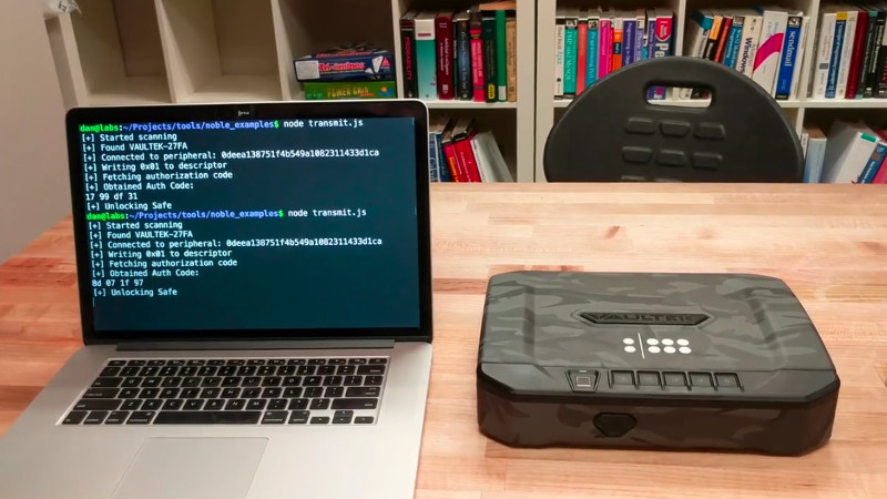 Bluetooth Gun Safe Cracked By Researchers | Hackaday
