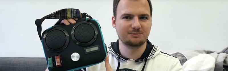 Bluetooth Speaker In A Bag   Hackaday