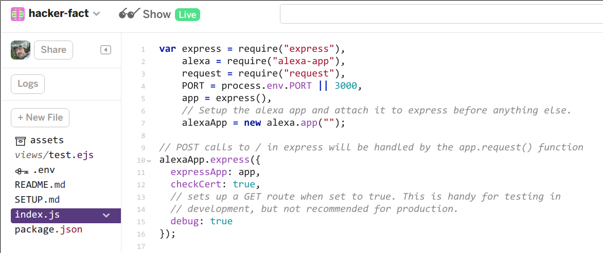 Custom Alexa Skill In A Few Minutes Using Glitch | Hackaday