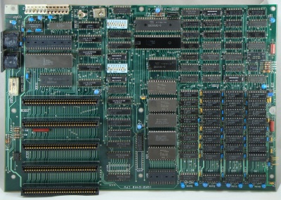 IBM PC motherboard with 5 expansion slots