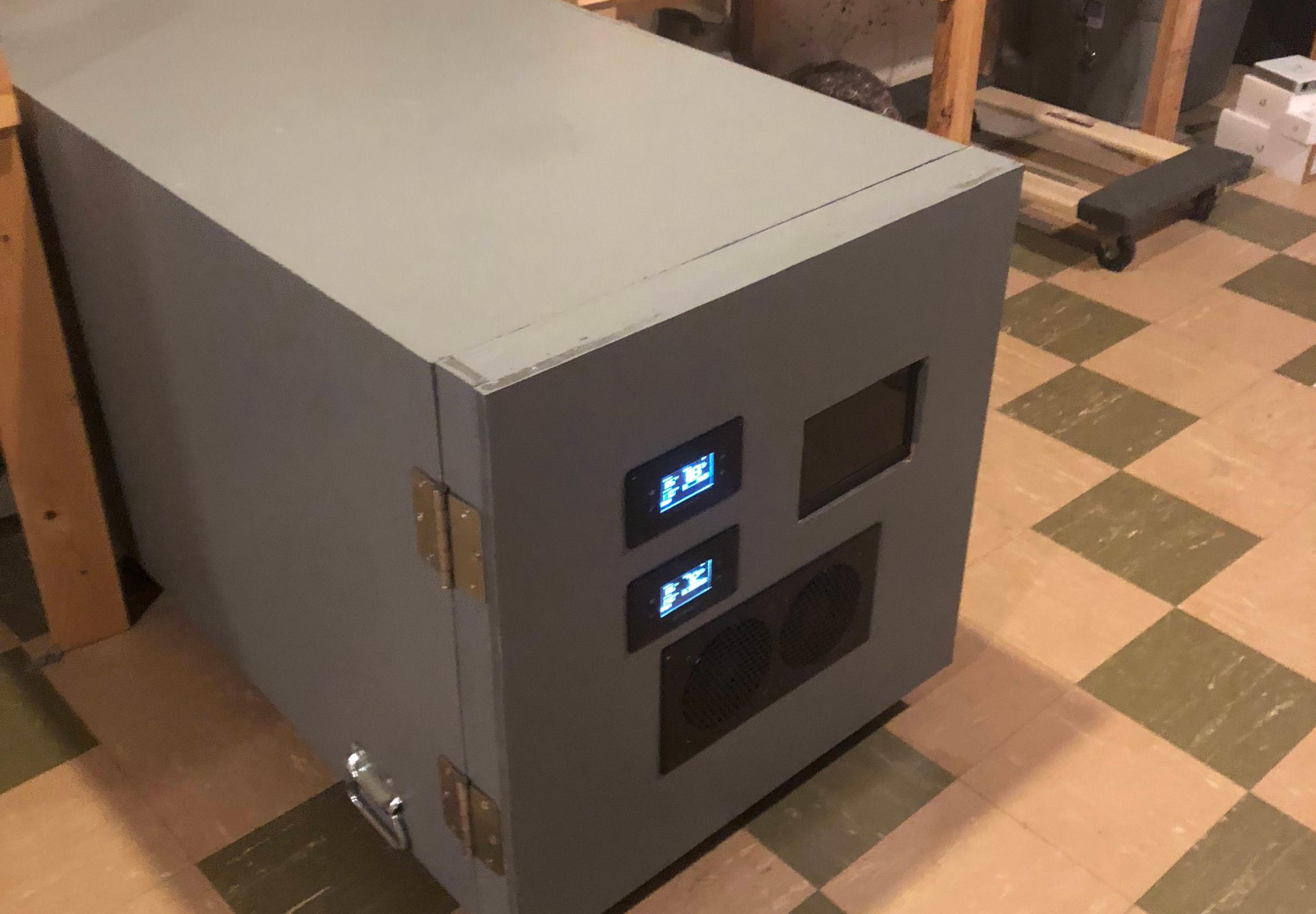 Sound Isolated Server Rack | Hackaday