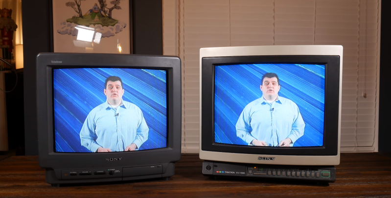 Why Sony's Trinitron Tubes Were The Best | Hackaday