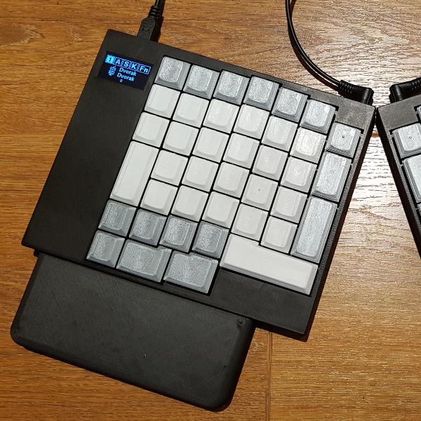 Split Ortholinear Keyboard