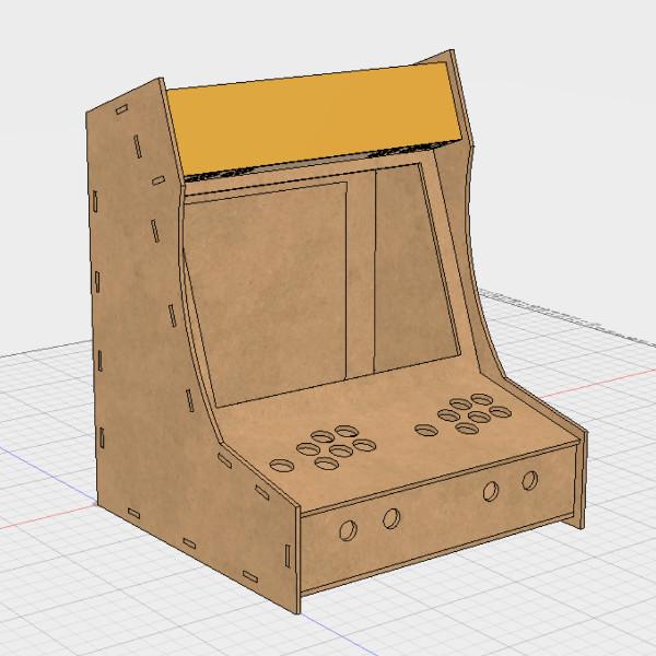 Bartop Arcade Cabinet Build Skips The Kit | Hackaday