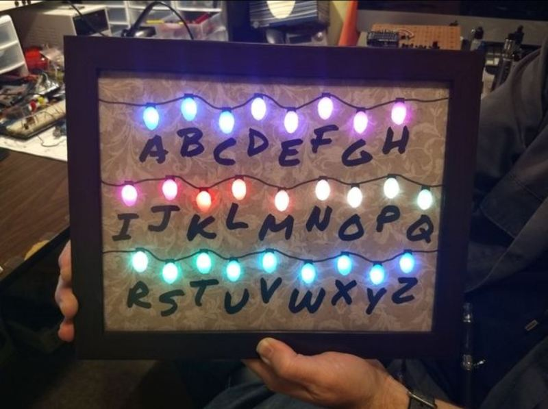 Things For Christmas.Giving Stranger Things For Christmas Hackaday