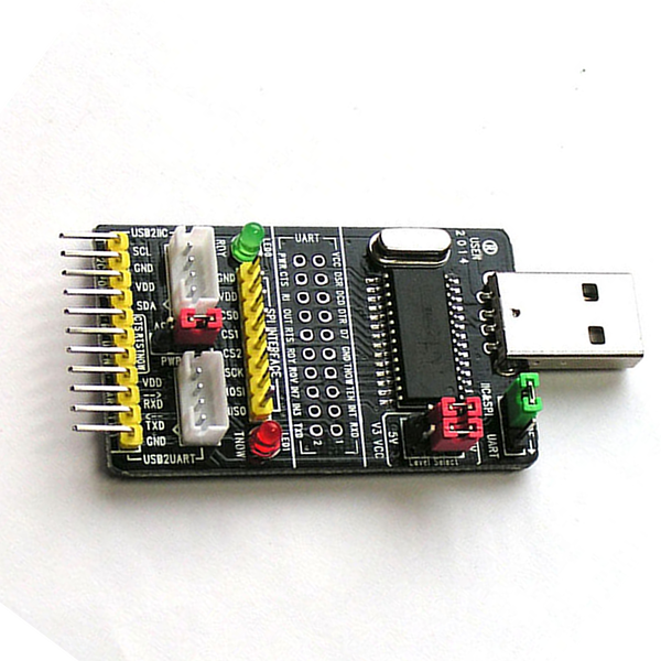 Linux Adds CH341 GPIO | Hackaday
