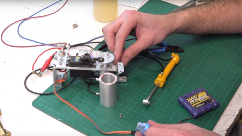 Mini Lathe Makes Tiny Hydraulic Cylinders For RC Snow Plow