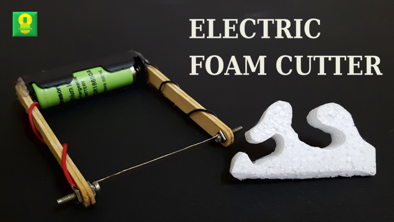 Build A Tiny Hot Wire Foam Cutter Hackaday