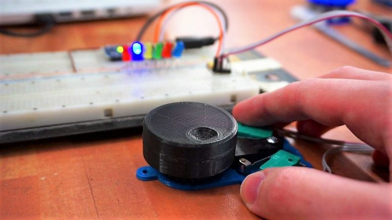 Roll Your Own Rotary Encoders | Hackaday