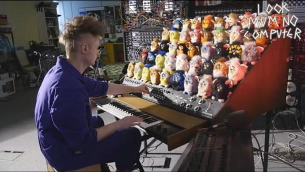 The Furby Organ