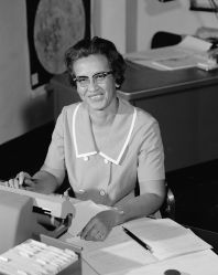 Katherine Johnson at NASA, in 1966
