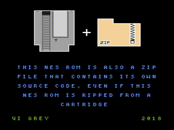 This NES ROM Is A ZIP Of Its Source | Hackaday