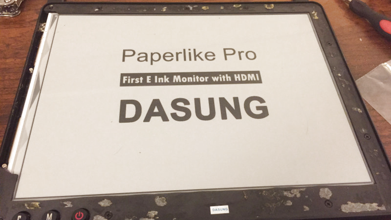 Tearing Down A $1000 E-Ink Display | Hackaday