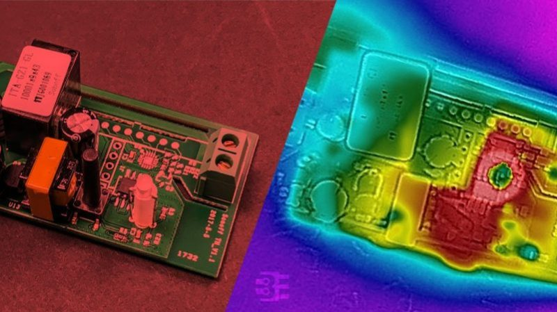 Thermal Camera Diagnoses Thermal Issue On A Sonoff Switch | Hackaday