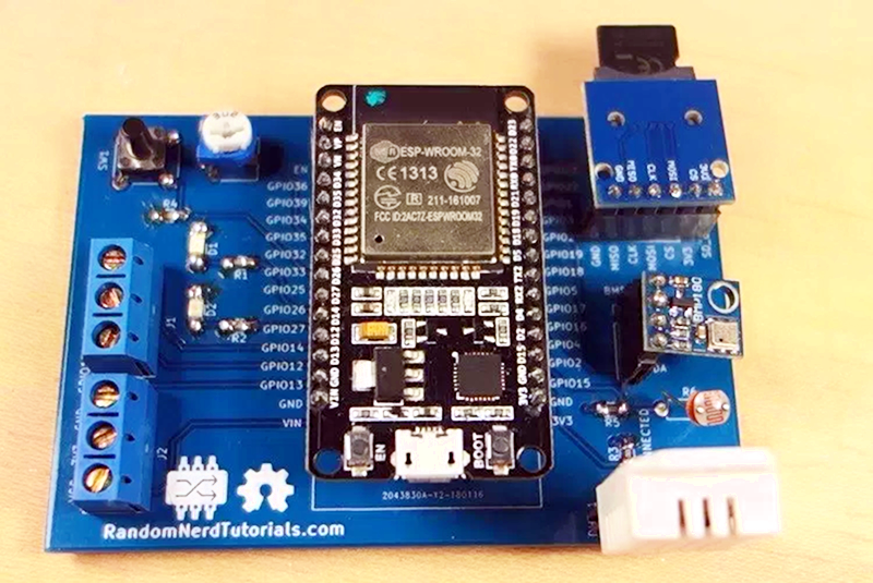 ESP32 Weather Station On A PCB | Hackaday
