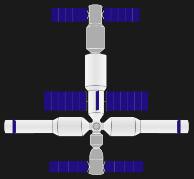Future Chinese permanent space station
