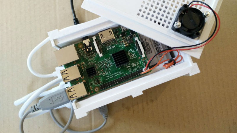 3D Printed Raspberry Pi NAS With Dual Drive Bays | Hackaday
