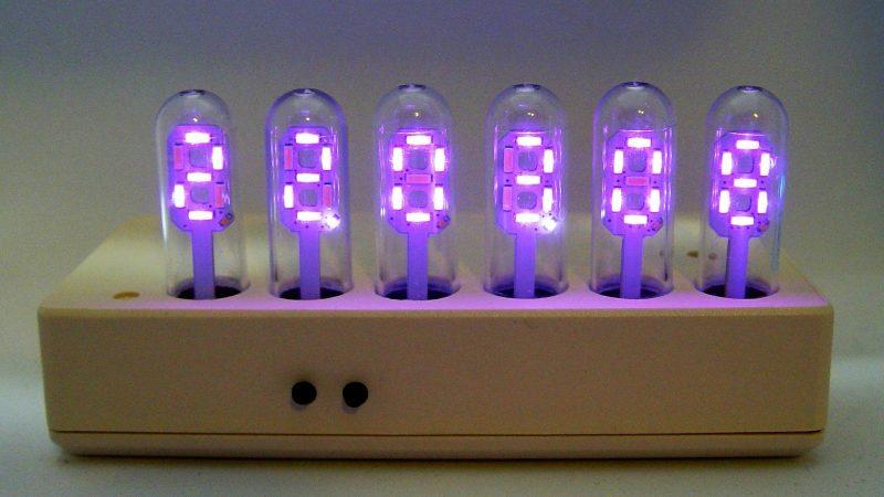 It's A Nixie! It's A VFD! No, It's A Custom LED Display In A Tube