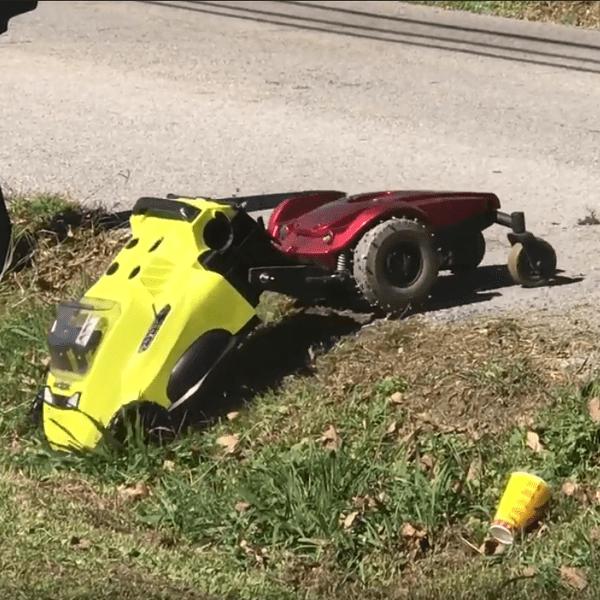Lawn Dog Faithfully Cuts The Grass | Hackaday