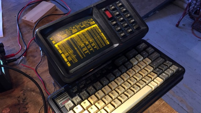 From Cop Car Data Terminal, To Retro Computer
