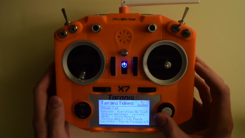 RC Transmitter Hacked Into Music Player   Hackaday