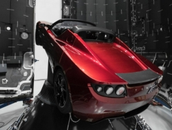 Tesla Roadster prior to launch
