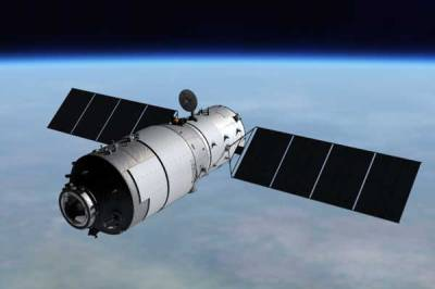 Tiangong-1 in orbit