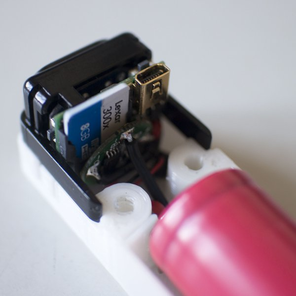 Vastly Improving The Battery Life On Cheap Action Cams