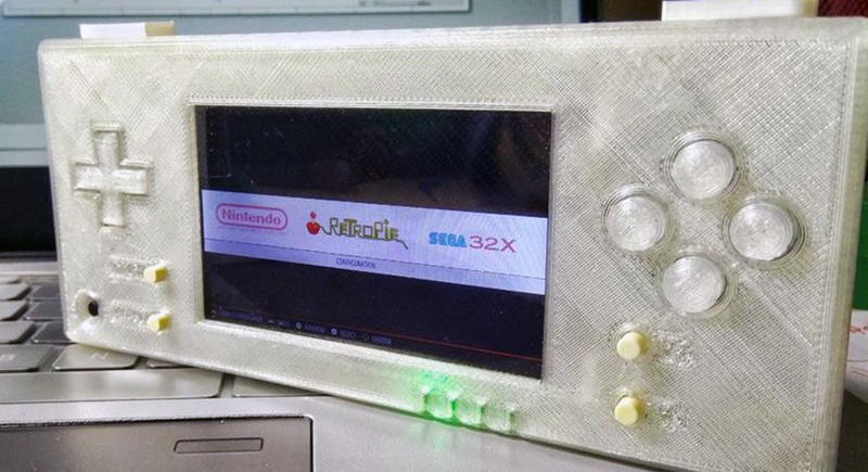 The Better RetroPie Handheld | Hackaday