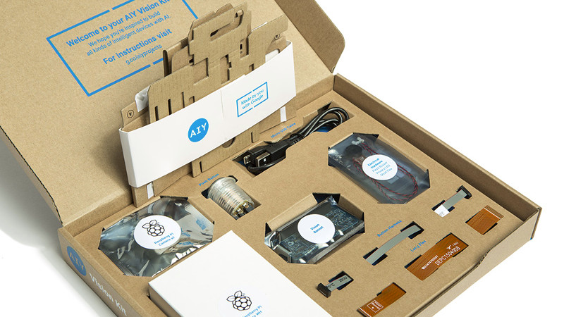 Google Lowers The Artificial Intelligence Bar With Complete DIY Kits