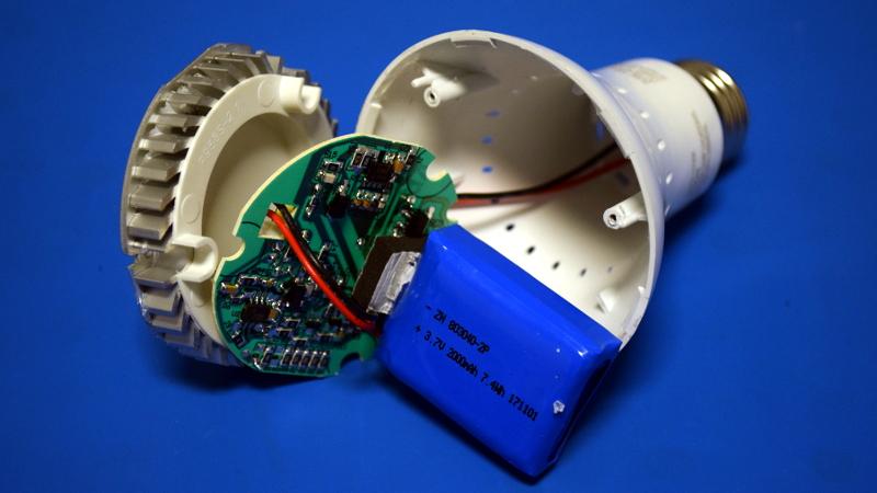 Teardown: LED Bulb Yields Tiny UPS | Hackaday